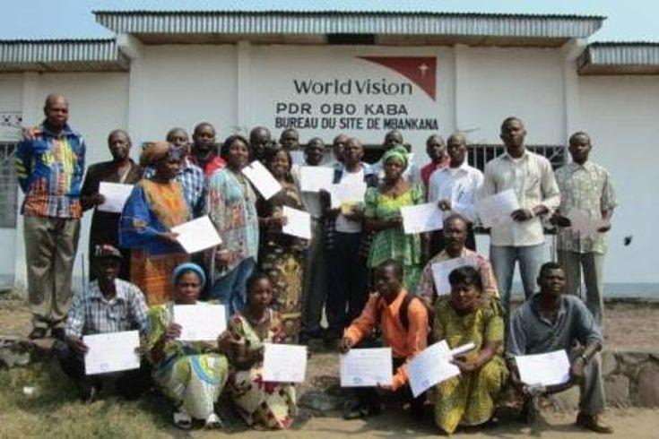 Clôture de une formation à Mbankana