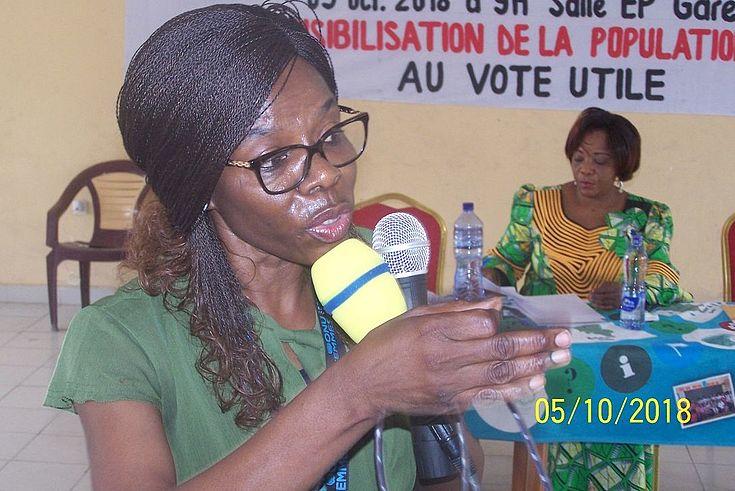 Intervention de Mme Catherine ODIMBA de l'ONU Femmes
