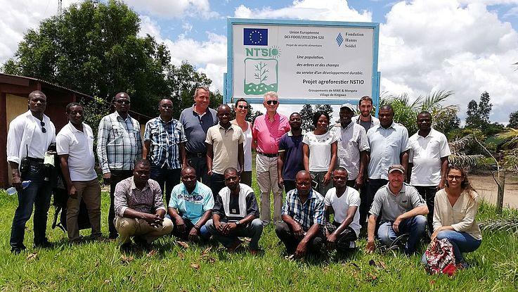 Visite de l'Ambassadeur de l'UE à NTSIO