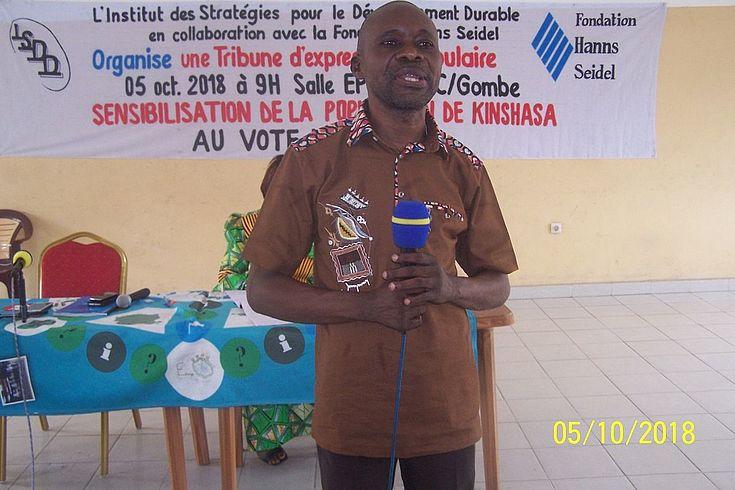 Intervention de M. Gérard BISAMBU de l'AETA