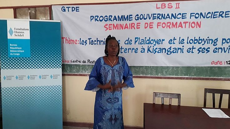 Intervention de Mme Bibiche SALUMU
