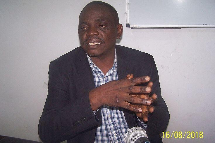 M. Willy KALALA, 2ème intervenant