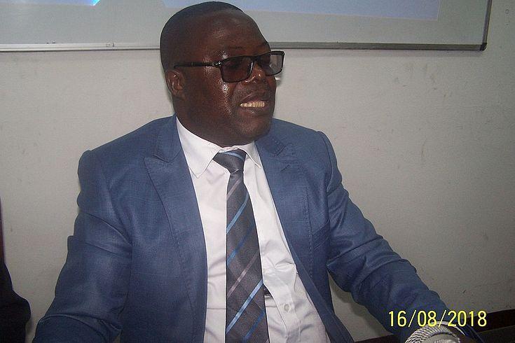 Intervention du Prof. KASONGO
