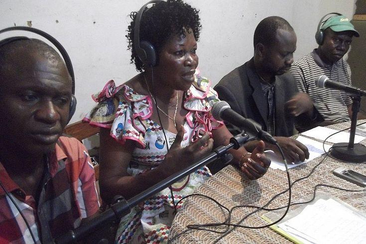 Emission radio à la RTNC Kikwit