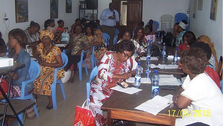Contribution du Prof. KIBANDA aux échanges